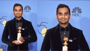 Aziz Ansari Becomes First Asian American To Win Golden Globe For Best Actor
