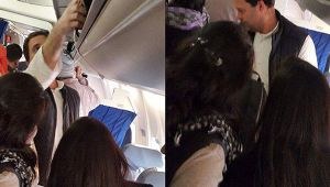 Rahul Gandhi helps co-passengers with their luggage, images goes viral