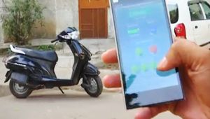 Mobile application to start car or motorcycle engine, Watch video