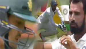 India vs South Africa 2nd test 4th day : de Kock out on 4th attempt, Shami strikes again