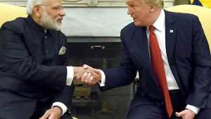 US President Donald Trump Says Working With India Is A Good Thing