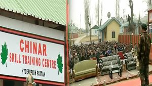 Kashmir : Army establishes skill training center in Baramullah