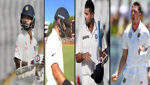 India vs SA 1st test, 1st day highlights, Kohli, Dhawan, Vijay fail, India 28/3 at stumps
