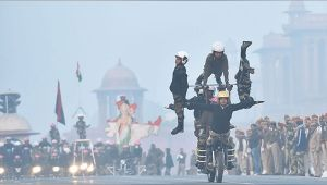 Republic Day Parade : Watch contingents of different forces rehearsing
