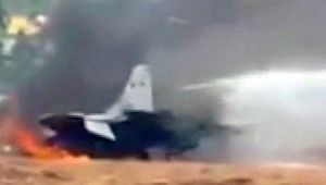 India Air Force's MiG 29K aircraft catches fire at Goa airoport, Watch Video