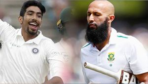 India vs South Africa 3rd test 2nd day : Hashim Amla dismissed for 61 run