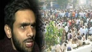 Bhima Koregaon violence: Umar Khalid slams BJP, RSS over clashes