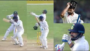 India vs South Africa 2nd test 2nd day: Murali Vijay out for 46 runs, leaves Kohli fuming