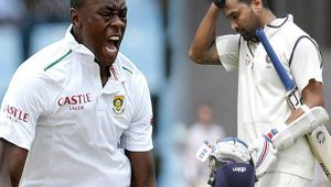 India vs South Africa 3rd test : Murali Vijay dismissed for 8 runs, Rabada strikes