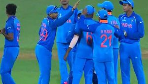 India beats Australia by 100 runs to wins first match in U19 World cup