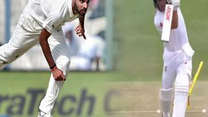 India vs SA 3rd test 2nd day : Bhuvneshwar Kumar bowls out AB de Villliers for 5 runs