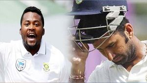 India vs South Africa 3rd test: Pujara dismissed for 50 runs, India in heap of trouble