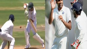 India vs South Africa 2nd test : Ashwin dismisses Elgar for 31 runs, Vijay takes catch