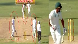 India vs South Africa 2nd test match: Philander run out for 'Duck' , had brain fade moment