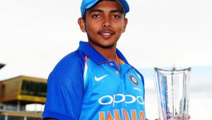 IPL 2018 Auction : Prithvi Shaw sold for 1.2 crore, Rahul Tripath sold for Rs 3.4 crore