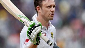 India vs South Africa 1st test : AB de Villers slams his 41st 50 before lunch