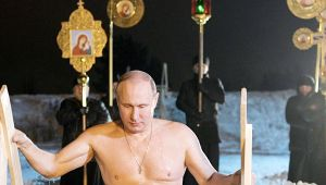 Russian President Vladimir Putin take a dip in ice lake like a 'BOSS', Watch video