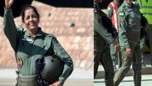 Nirmala Sitharaman donned special suit before flying in Sukhoi30, Know what is G-suit
