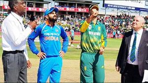India vs South Africa 6th ODI : Virat Kohli wins toss elects to bowl first