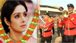 Sridevi last journey : Watch the guard of honor given to the actress
