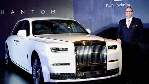 Rolls Royce Launches the 2018 Phantom VIII in India at ₹11.35 Crore