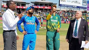 India vs South Africa 2nd ODI : Virat Kohli wins toss, elects to bowl in Centurion