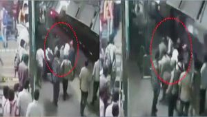 Mumbai : Cop saves boy from crushing between platform and train, Watch CCTV footage