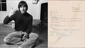 Steve Jobs' 45 Year Old Job Application Form To Auction For ₹32 Lakhs