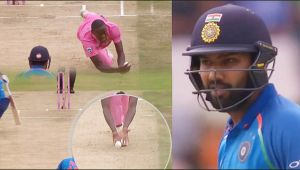 India vs South Africa 4th ODI : Rohit Sharma Flop Again, OUT for 5