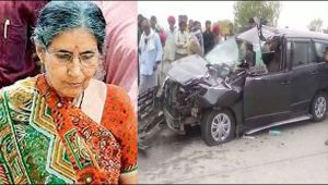 PM Modi's wife Jashodaben injured in car accident in Rajasthan