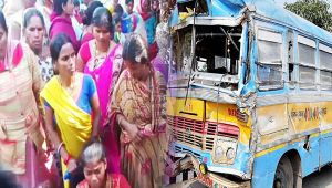 Bihar : Nine students killed, 24 injured in bus accident
