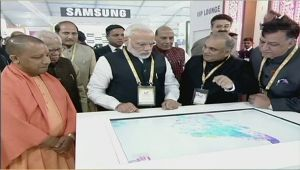 PM Modi inaugurate UP Investors Summit in Lucknow , Watch