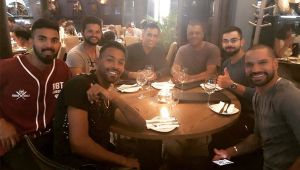 India vs South Africa 1st T20I : Virat Kohli & Co enjoy dinner after winning in Johanesberg