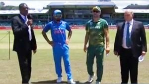 India vs South Africa 1st ODI : India to bowl first after Porteas win toss and elect to bat