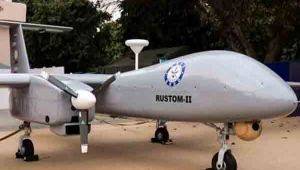 DRDO's Test Flight Of 'Rustom2' Drone Successful