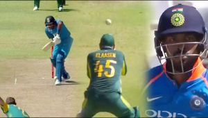 India vs South Africa 3rd ODI : Hardik Pandya throw his wicket for 15 runs