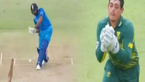 India vs South Africa 1st ODI: Rohit Sharma out for 20 overs