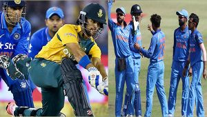 India vs South Africa 1st T20I : India sets target of 204 for Africa, Dhawan slams 50