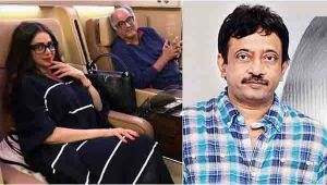 Sridevi : Ram Gopal Varma says 'she was a child trapped in a woman's body'