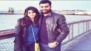 Rohit Sharma wished wife Ritika on Valentine's day in a special way