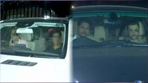 Sridevi : Sanjay Kapoor and Satish Kaushik arrive to pay condolences