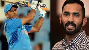 MS Dhoni is the topper of the university where I am still studying says Dinesh Karthik