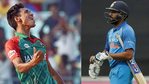 India vs Bangladesh 2nd T20I : Rohit Sharma dismissed for 17 runs