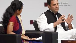 Rahul Gandhi faces trough questions in Singapore, Congress doctors video, faces flake