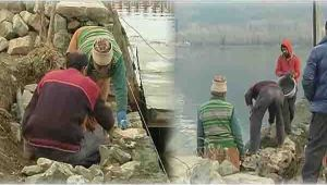 Kashmir : Restoration of Dal lake in full swing
