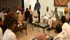 Punjab: Family members of 39 Indians killed in Iraq meet Congress state President