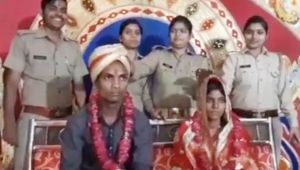 Uttar Pradesh: Couple get married inside Police Station; Here's why