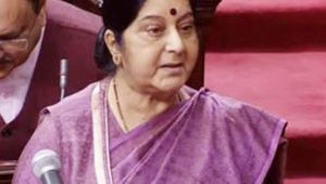 Sushma Swaraj in Rajya Sabha confirms killing of 39 Indians in Iraq, Watch