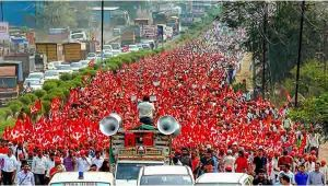 50,000 Farmers Have Marched To Mumbai