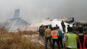 Kathmandu: US-Bangla Plane Crashes, Many Feared Dead